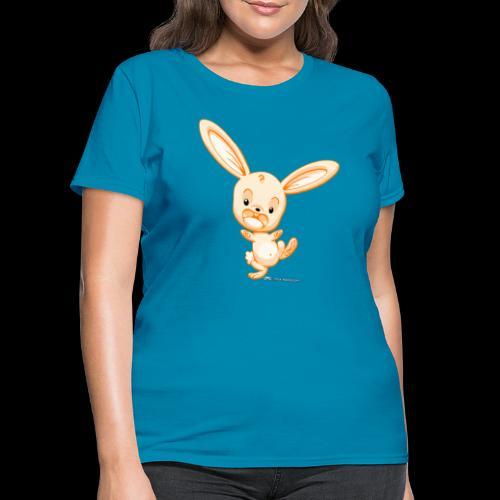 Orange Bunny - Women's T-Shirt