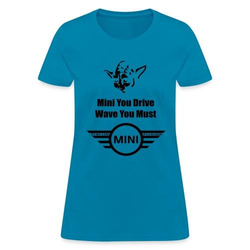 yoda wave - Women's T-Shirt