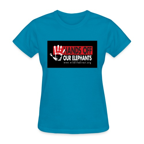WLD bumperSticker jpeg - Women's T-Shirt