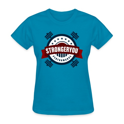 StrongerYouPersonalTraini - Women's T-Shirt