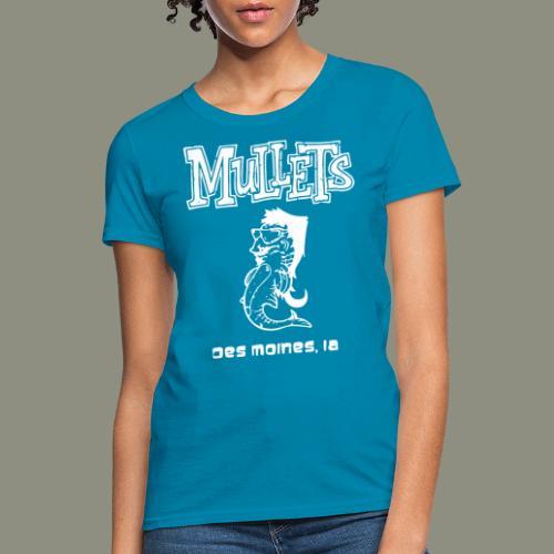 mulletmain white - Women's T-Shirt