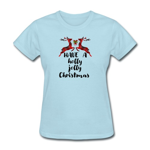 Holly Jolly Christmas - Women's T-Shirt