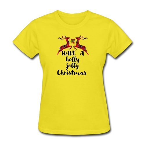 Holly Jolly Christmas - Women's T-Shirt