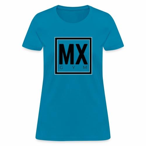 MX Gym Minimal Logo - Women's T-Shirt