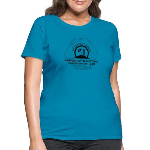 Pikes Peak Gamers Convention 2018 - Clothing - Women's T-Shirt