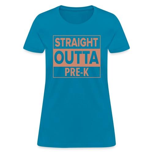 straightoutta prek - Women's T-Shirt