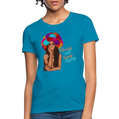 Chocolate Girl With CandyTopping - Women's T-Shirt