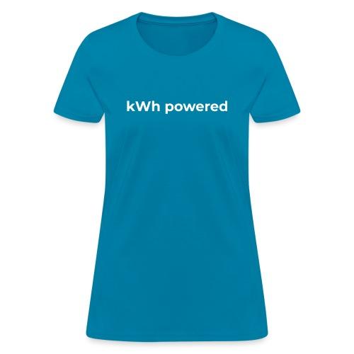 kWh powered - Women's T-Shirt