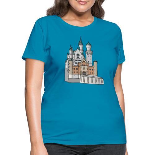 Neuschwanstein Castle, Bavaria - Women's T-Shirt
