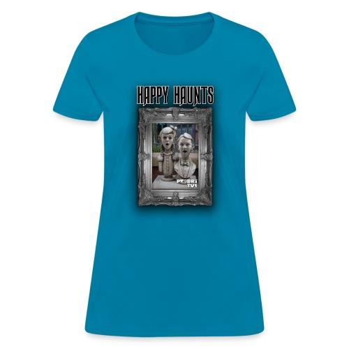 Happy Haunts 1 - ResortTV1 - Women's T-Shirt