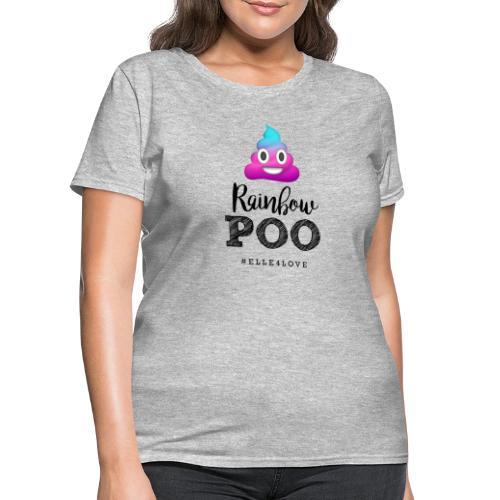 Rainbow Poo - Women's T-Shirt