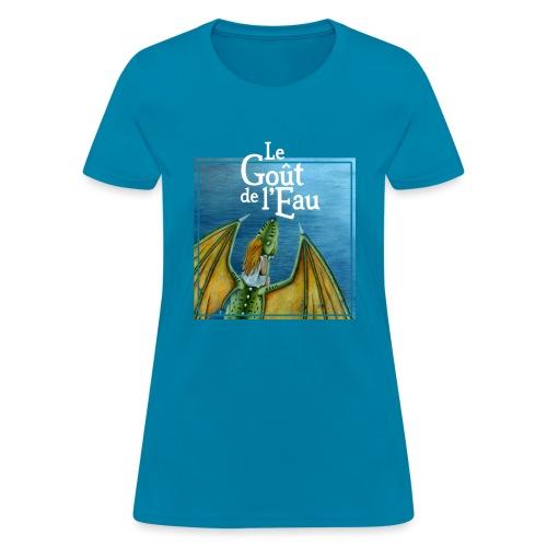 Le Goût de l Eau - T-shirt pour femmes