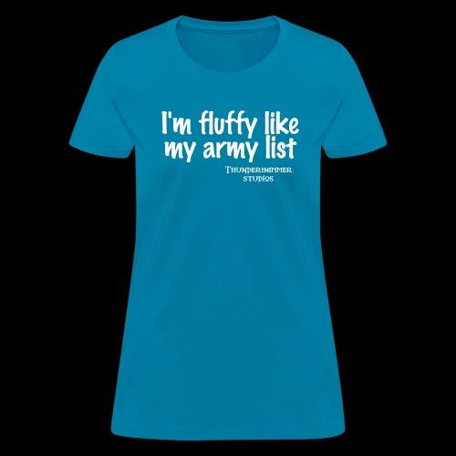 fluffy - Women's T-Shirt