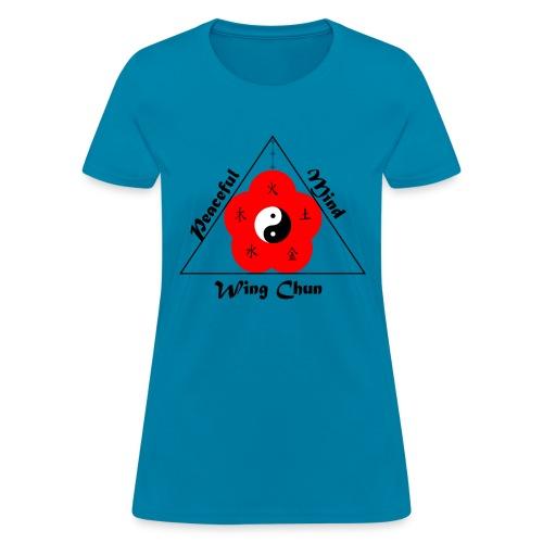 Peaceful Mind Vector - Women's T-Shirt