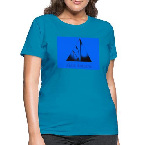 Light Blue Logo - Women's T-Shirt