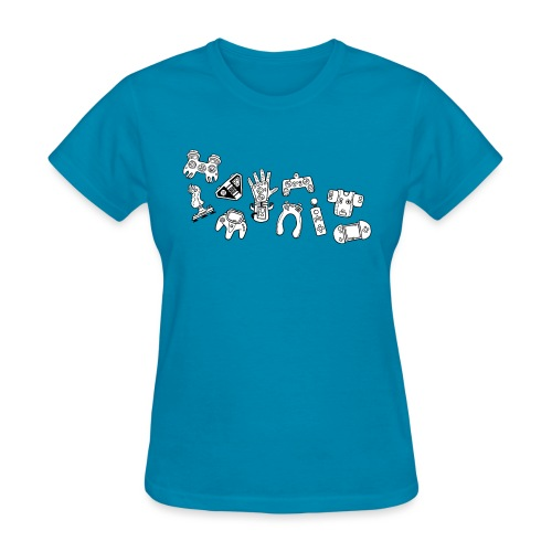 Prototype Gamepads - Women's T-Shirt