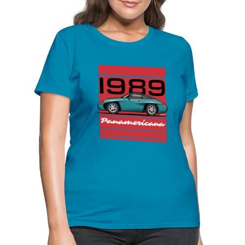 1989 P0r5che Panamericana Concept Car - Women's T-Shirt