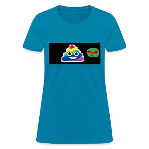 ninja poop - Women's T-Shirt