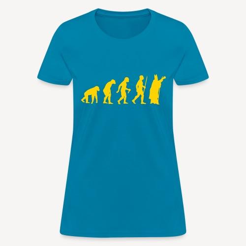 PAPAL EVOLUTION - Women's T-Shirt