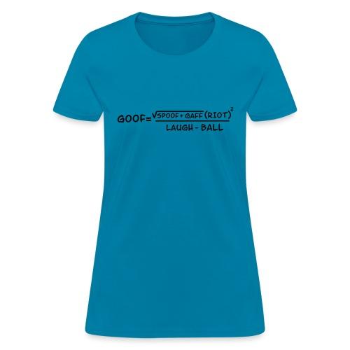 gaff text3 - Women's T-Shirt