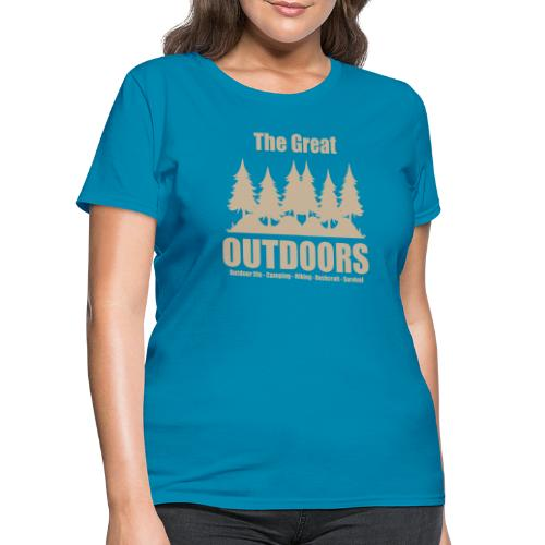 The great outdoors - Clothes for outdoor life - Women's T-Shirt