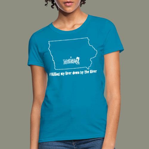 river white - Women's T-Shirt