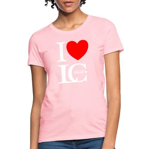 I Heart LCDance - Women's T-Shirt