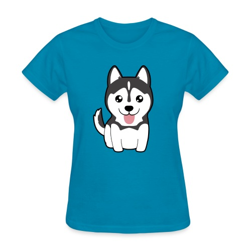 Mini Husky - Women's T-Shirt