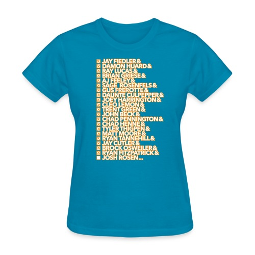 knowyourhistory-2019-rose - Women's T-Shirt