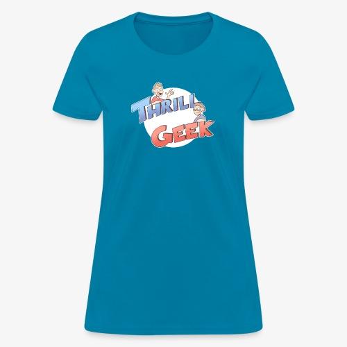 ThrillGeek Podcast Logo Shirt - Women's T-Shirt
