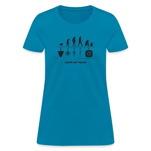 IG De-Evolution Black - Women's T-Shirt