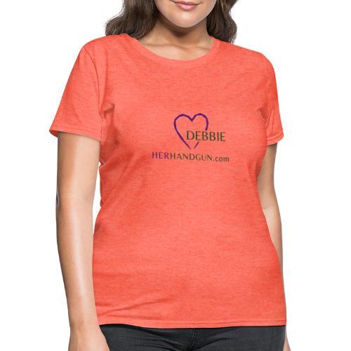 HerHandgun DEBBIE - Women's T-Shirt