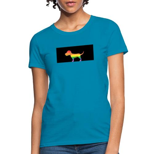 Gay dog - Women's T-Shirt