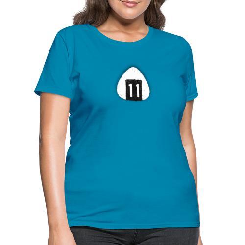 Onigiri Highway 11 Hawaii (dropshadow) - Women's T-Shirt
