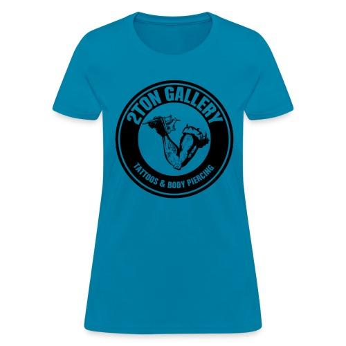 2tontattooshirtblackout - Women's T-Shirt