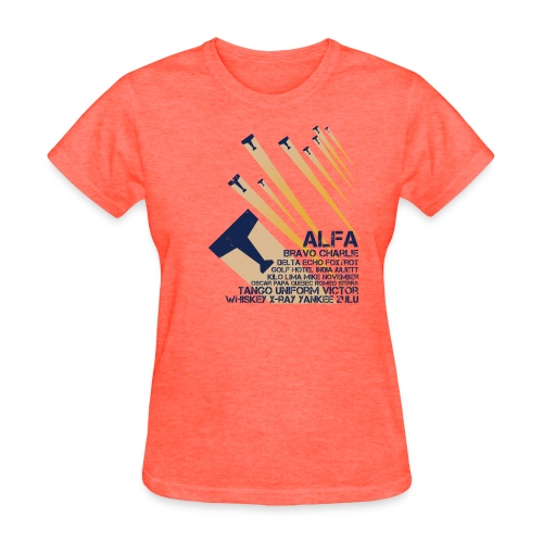 International Phonetic Alphabet - Women's T-Shirt