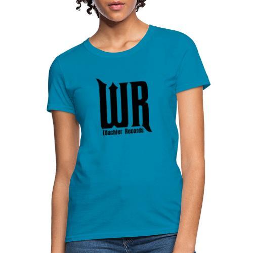 Wachler Records Dark Logo - Women's T-Shirt