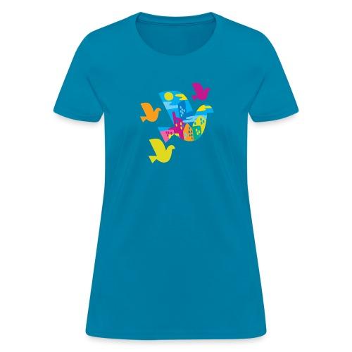 city bird - Women's T-Shirt