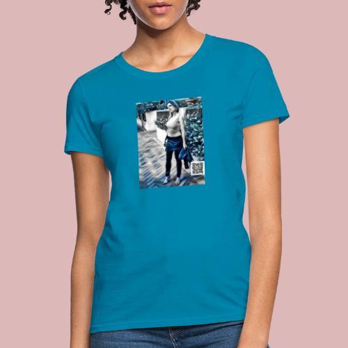 Metalic babe - Women's T-Shirt