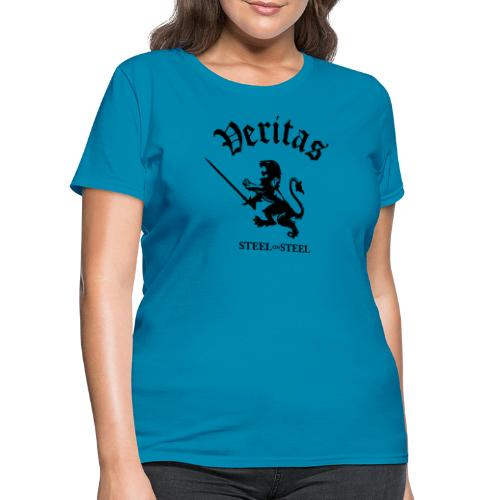 Black Lion Veritas Logo - Women's T-Shirt