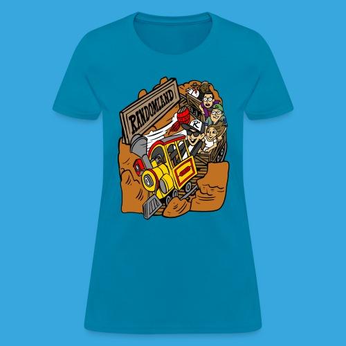 Wild West Mine Train - Women's T-Shirt