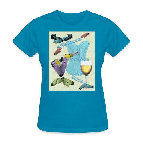 Afternoon Fashion Style - Women's T-Shirt
