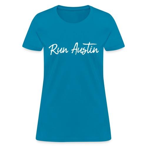 Run Austin Virtual Series - Women's T-Shirt