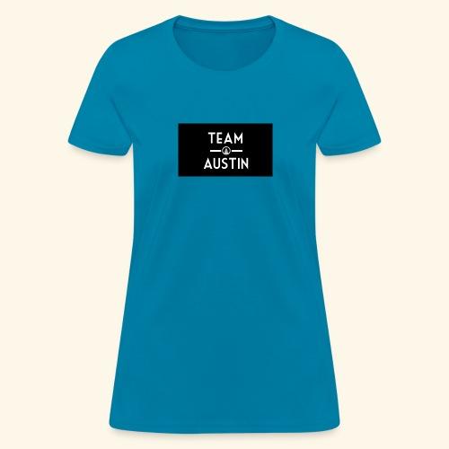 Team Austin Youtube Fan Base - Women's T-Shirt
