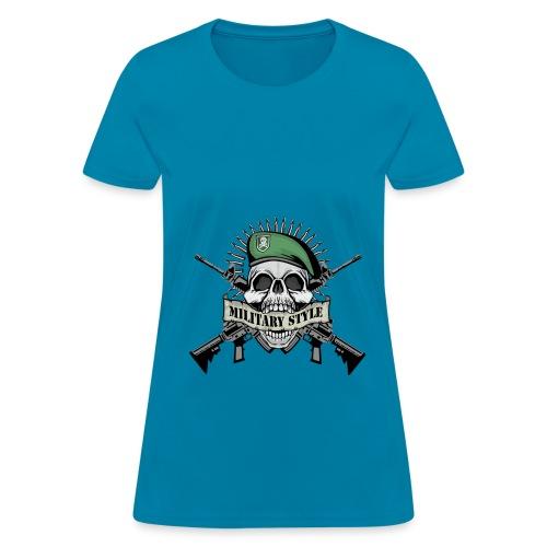 Militry Style - Women's T-Shirt