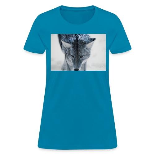 Winter Wolf - Women's T-Shirt