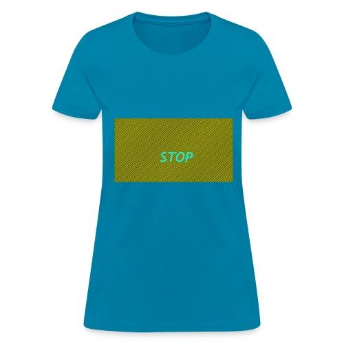 STOP shirt - Women's T-Shirt