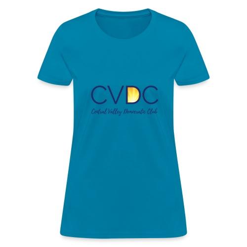 CVDC Blue Logo - Women's T-Shirt
