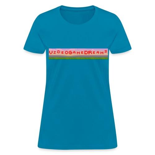 videogamedreams Logo - Women's T-Shirt