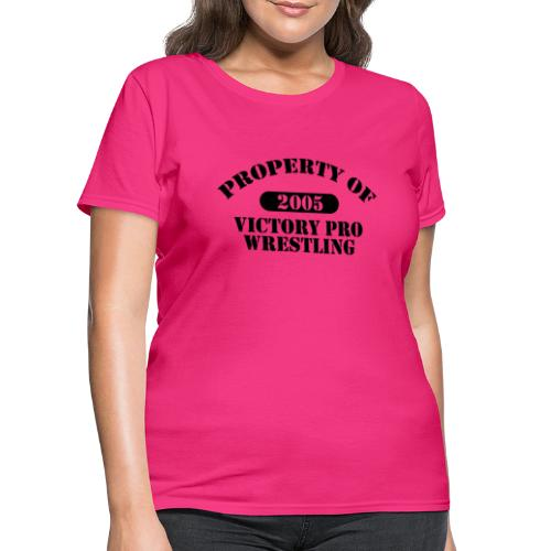 Property of Victory Pro Wrestling - Women's T-Shirt